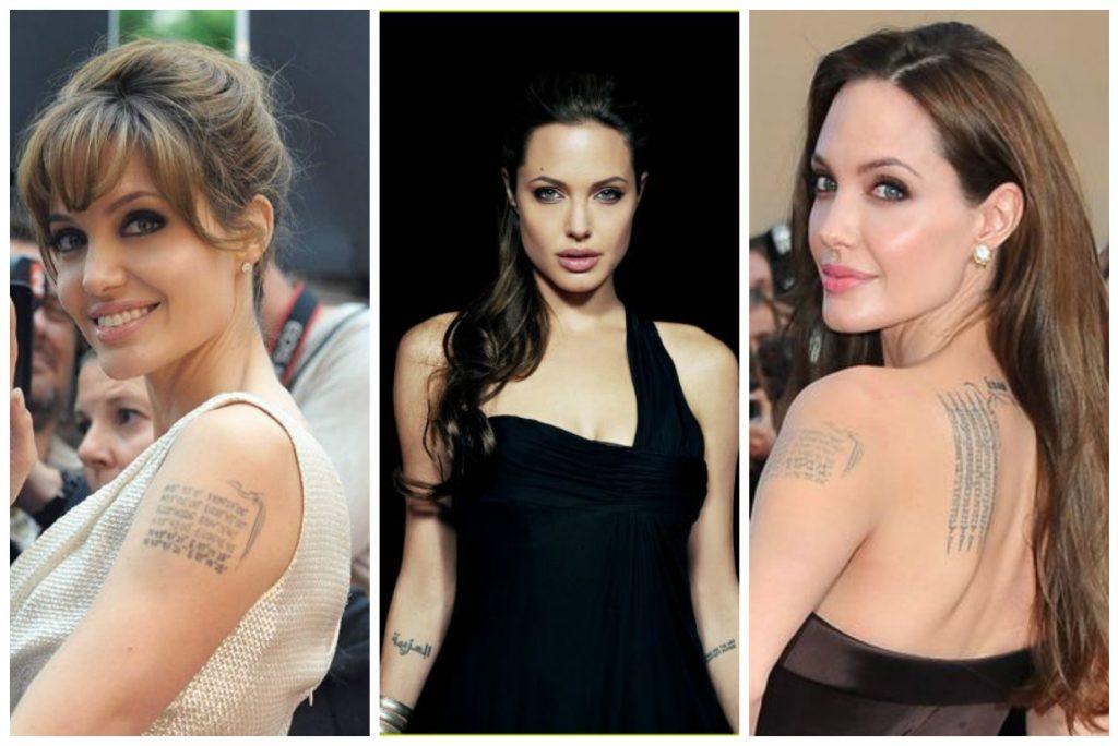 Avec près d'une douzaine de tatouages sur le corps, Angelina Jolie pourrait bien être à l'origine de la tendance !