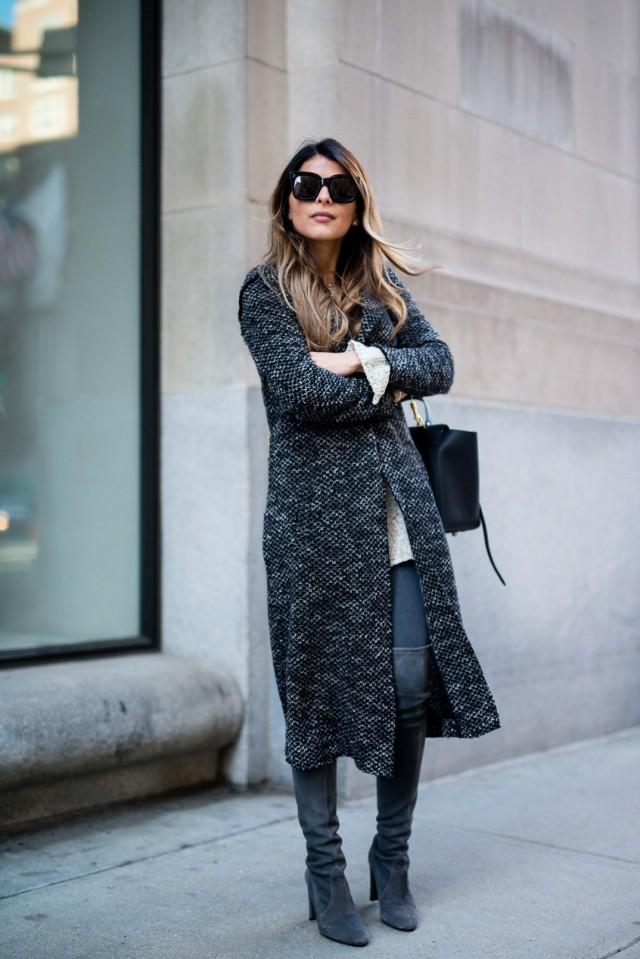 Un style d'hiver plus casual avec cuissardes tendances 2017
