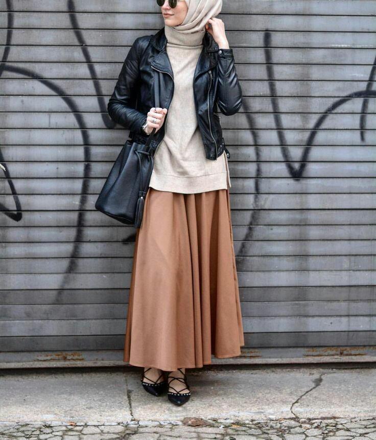 Exceptionnel Hijab Fashion 2017 : Comment avoir un Hijab street style tendance PJ17