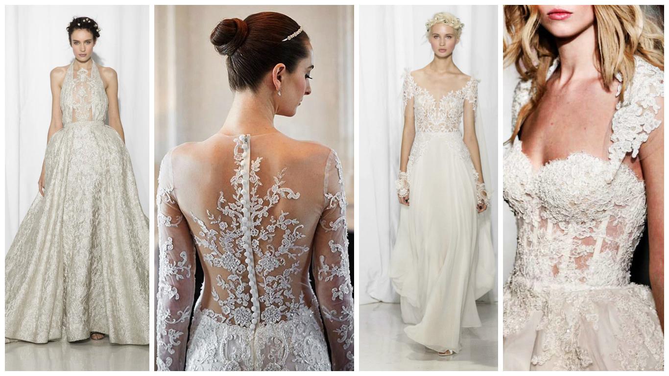 f2b087910c388d 27 des plus belles robes de mariée Reem Acra 2017