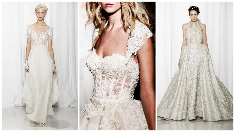 Les plus belles robes de mariée Printemps-Eté 2017