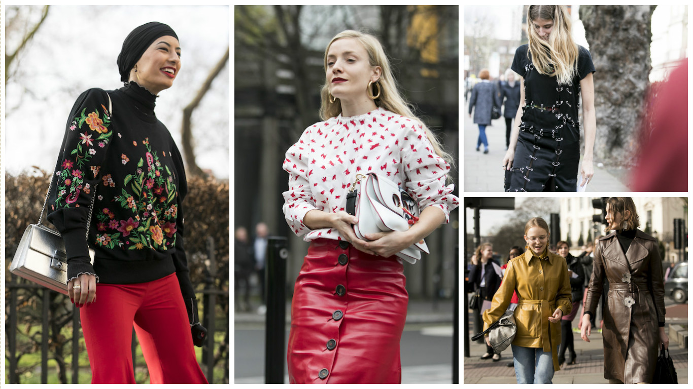 Printemps-été 2017: 55 Des plus beaux Street Styles de la Fashion Week de Londres