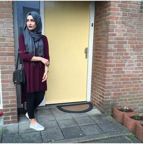 Hijab fashion 2017 comment avoir un hijab street style tendance Fashion style and mode facebook
