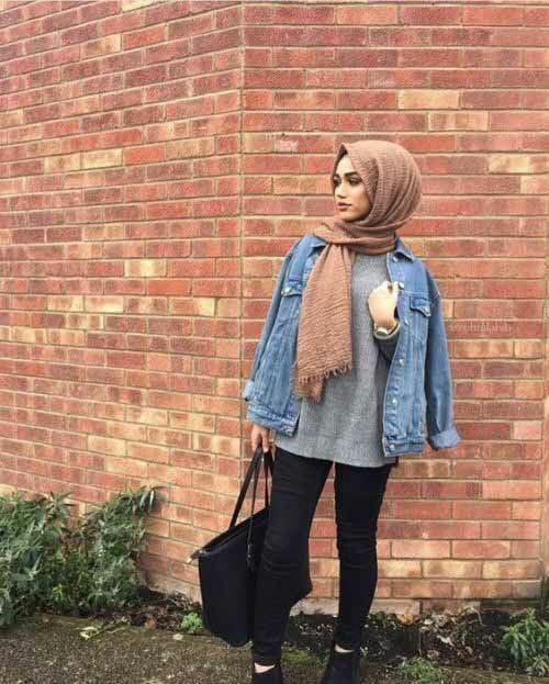 Street Fashion Un 2017 Tendance Avoir Hijab Comment Style azWXqXH
