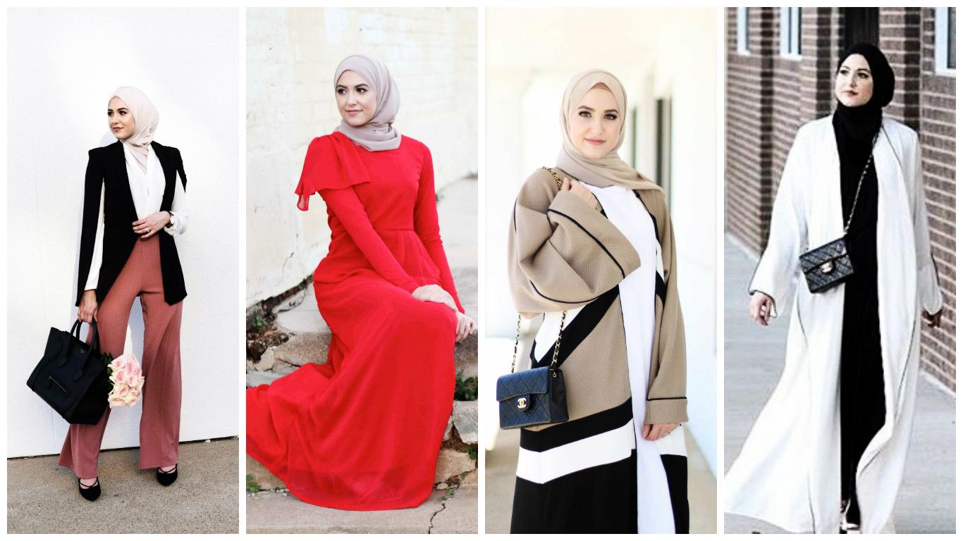 Hijab fashion 2017 une s lection des meilleurs looks hijab moderne chic pour le printemps t - Look bureau femme 2017 ...