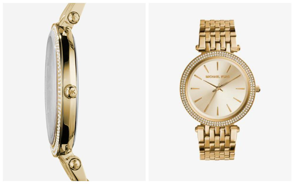 Montre Darci dorée avec pavé : Un peu de glamour, un peu de décontraction : soyez toujours chic avec la montre Darci. Sa lunette ornée de pavés ne passera pas inaperçue, tandis que son bracelet doré confère à cette montre élégante un style intemporel.