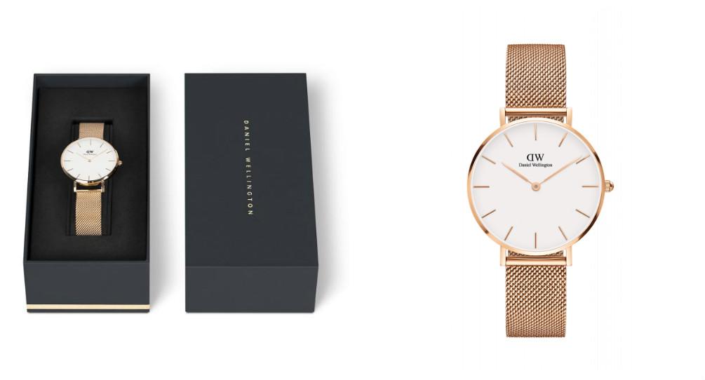 Montres pour femmes tendances 2017 - Daniel Wellington CLASSIC PETITE modele MELROSE 32MM : Incontestablement élégante, cette montre se porte aussi bien lors d'une occasion spéciale qu'au quotidien.