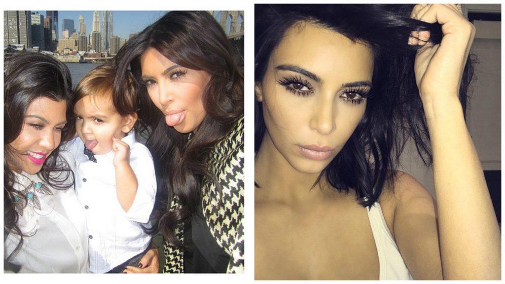kim kardashian toujours belle dans les selfies