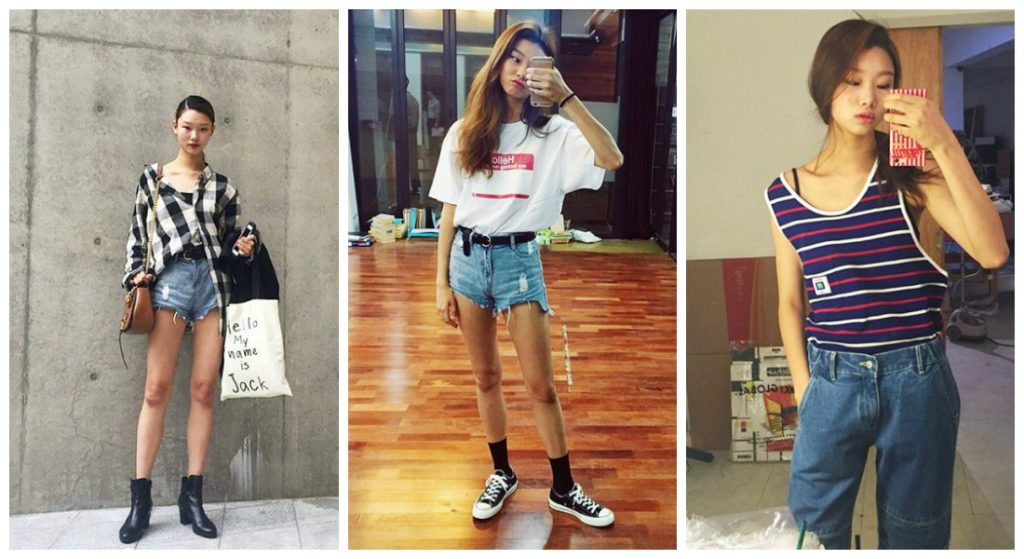 3 styles off duty de Yoon Young Bae