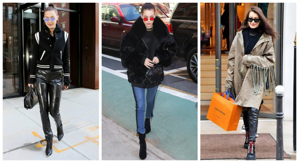 3 styles off duty de bella hadid