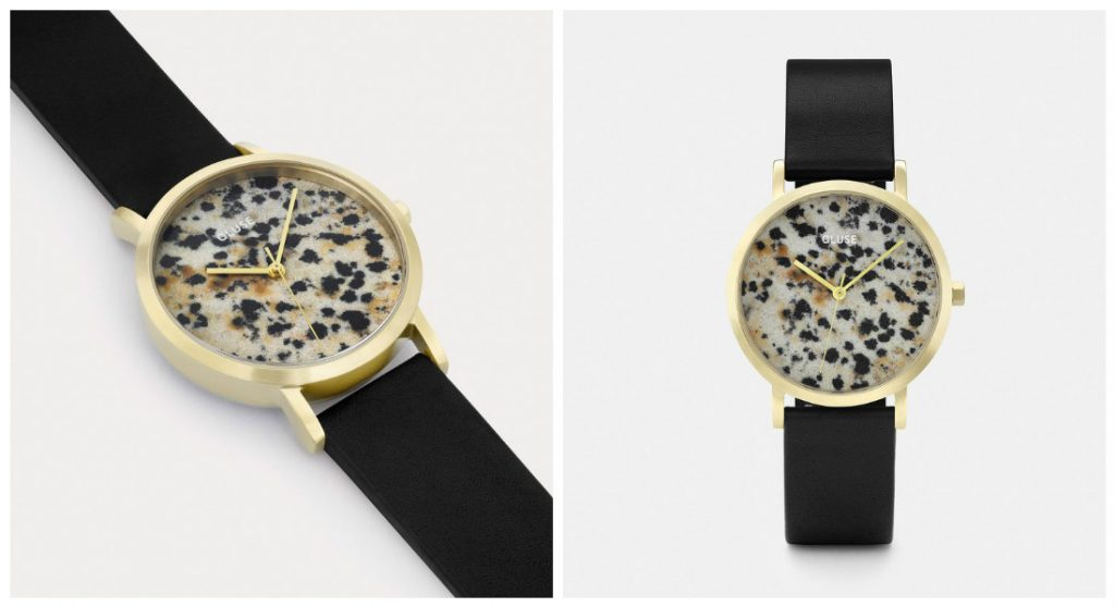 CLUSE COLLECTION 2017 - Montre modele LA ROCHE PETITE GOLD DALMATIAN