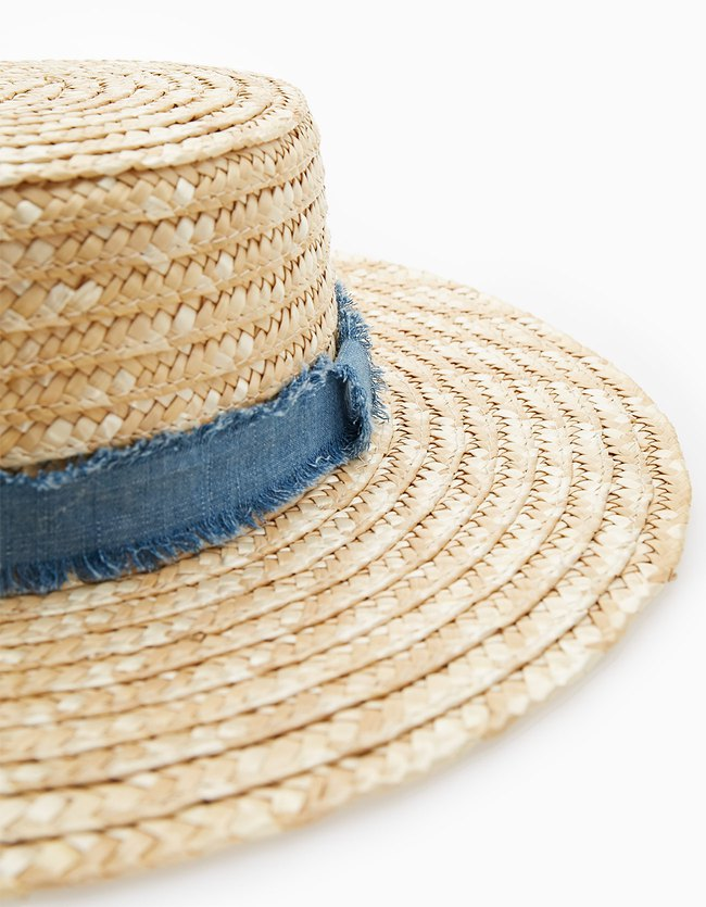 Stradivarius collection été 2017 - the summer expidetion : Chapeau gondolier