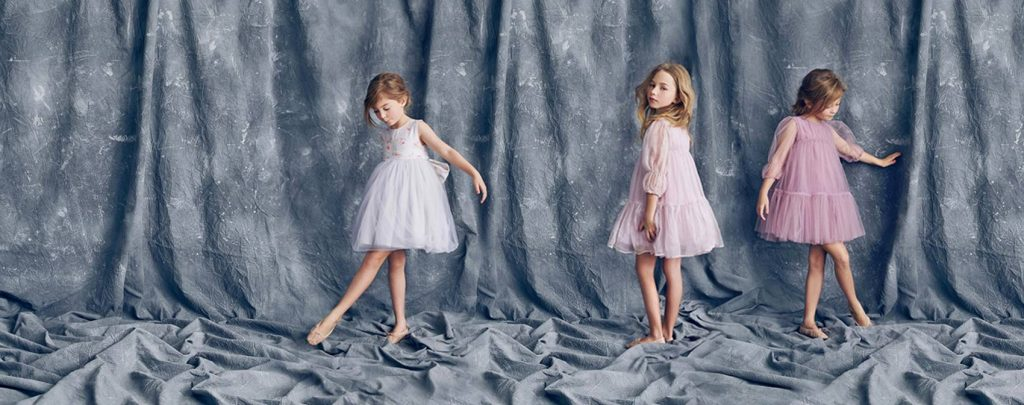 Robes fillettes 2017 - Nelly stella collection été 2017