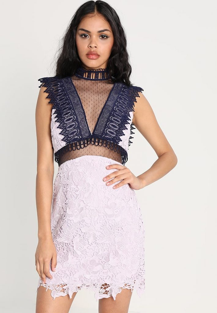 FUNEL - Robe de soirée - lilac - Topshop