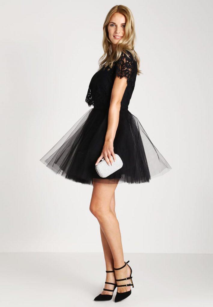 GOTHA - Robe de soirée - black/black - Derhy