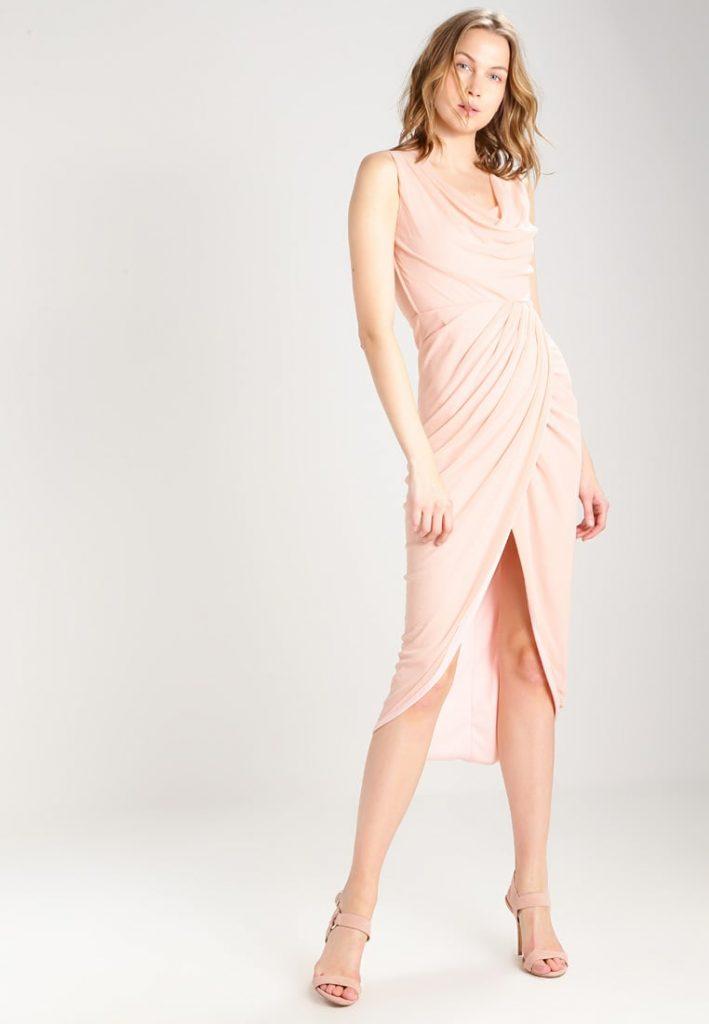 Robe de soirée tendance été 2017 - Robe de cocktail - pale-pink - WAL G