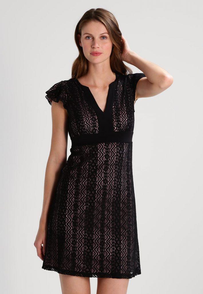 Robe de soirée tendance été 2017 - Robe de soirée - black-mauve - Anna Field