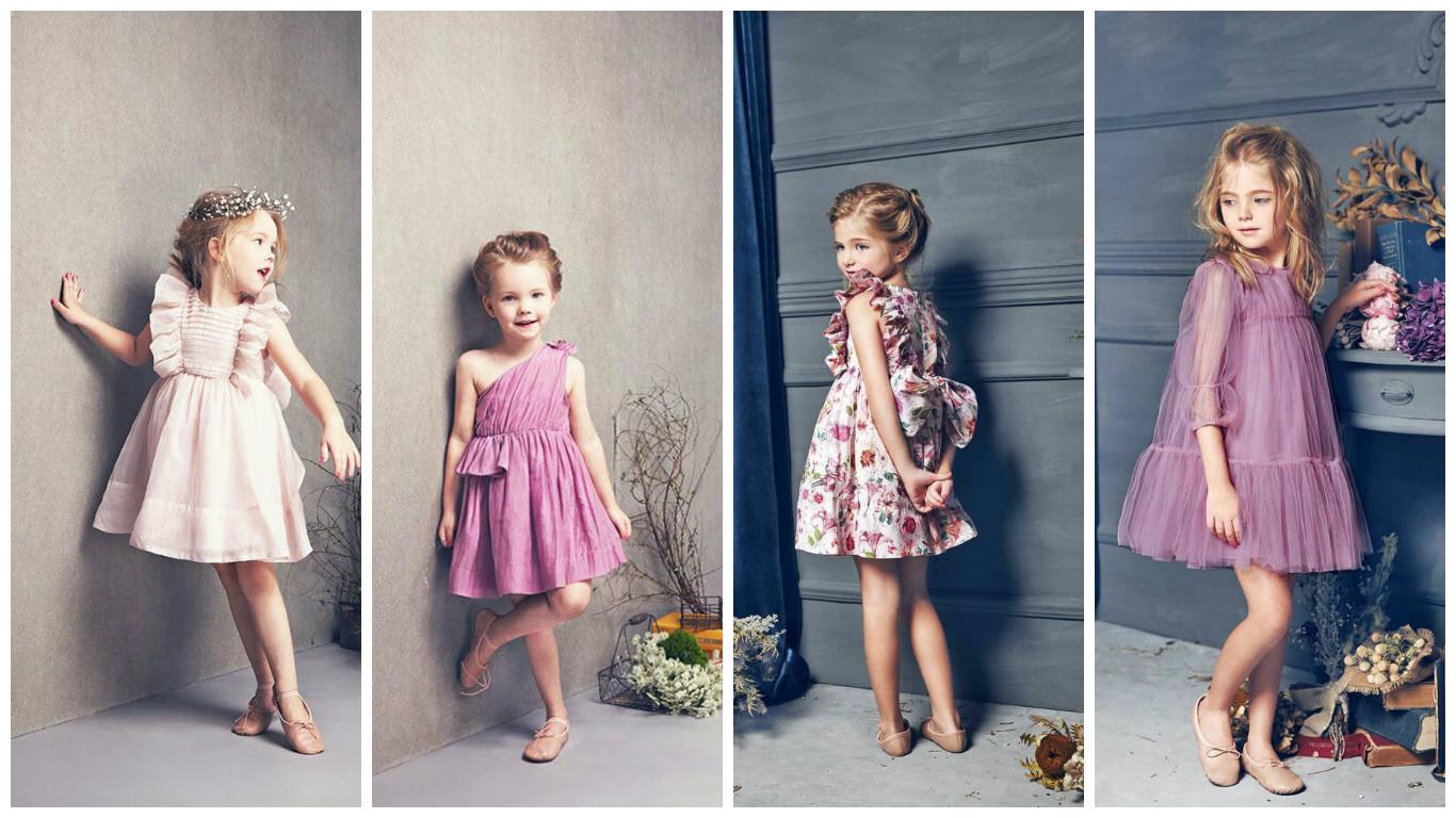 Robes fillettes 2017 : 30 Robes de fillettes chic et tendance de l'été 2017