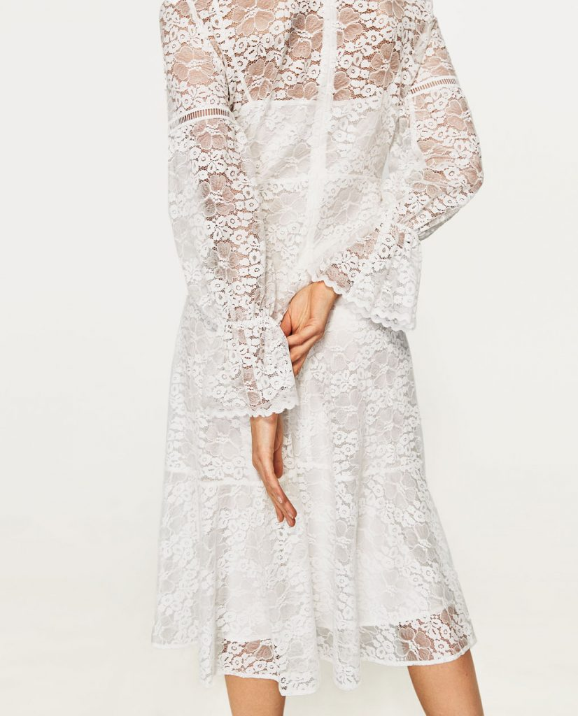 collection Zara spéciale Ramadan 2017 - ROBE EN DENTELLE