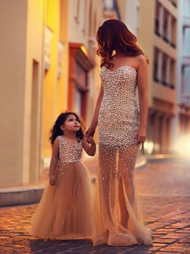 Mode m re fille 70 des plus beaux look assortis pour - Vetement bebe fille fashion ...