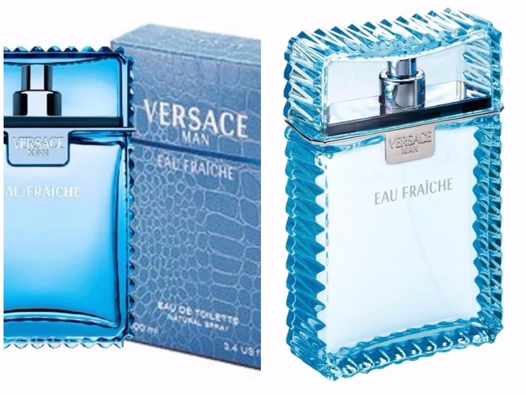 Meilleurs Parfums Homme 2017 - Versace Man 'Eau Fraiche' Cologne
