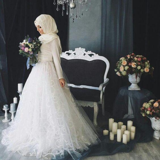 Robe de mariee voilee