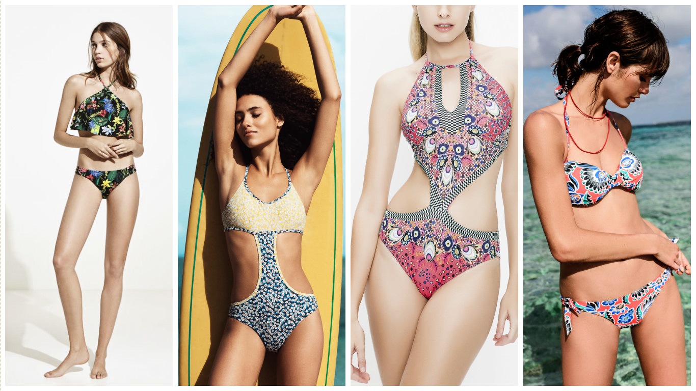Tendance Mode : 30 des plus beaux maillots de bain de l'été 2017