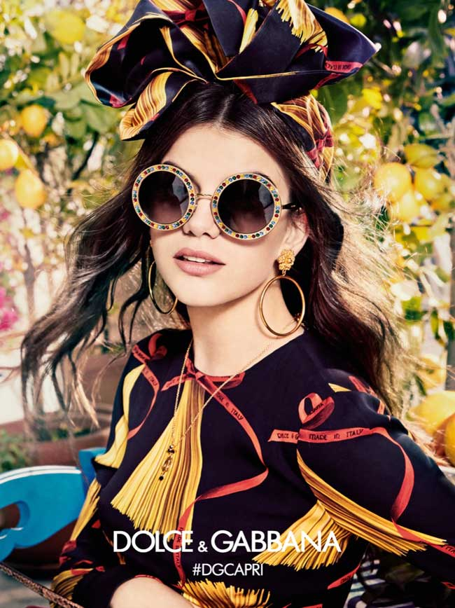 45192ef8dea8ab Share. Share on Pinterest Share on FacebookShare on Twitter. lunette pour  femme collection 2017  lunette ronde Dolce § Gabbana ...