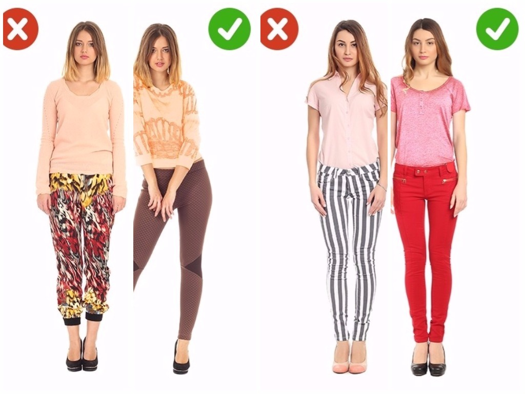 Look : 14 Vêtements qui devraient être évités par la plupart des femmes