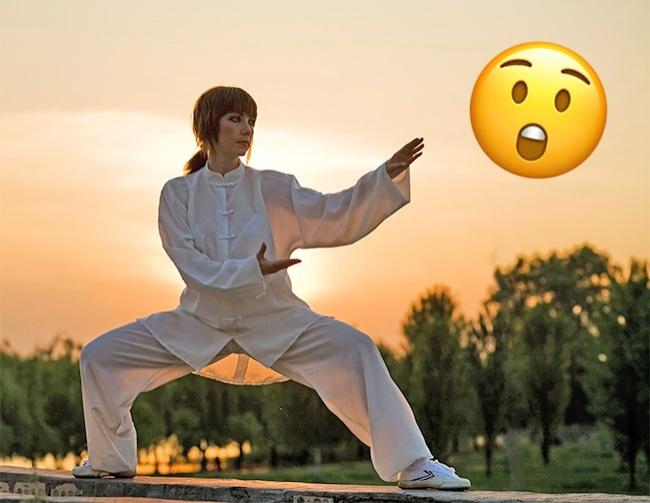 Entraînement au kung-fu