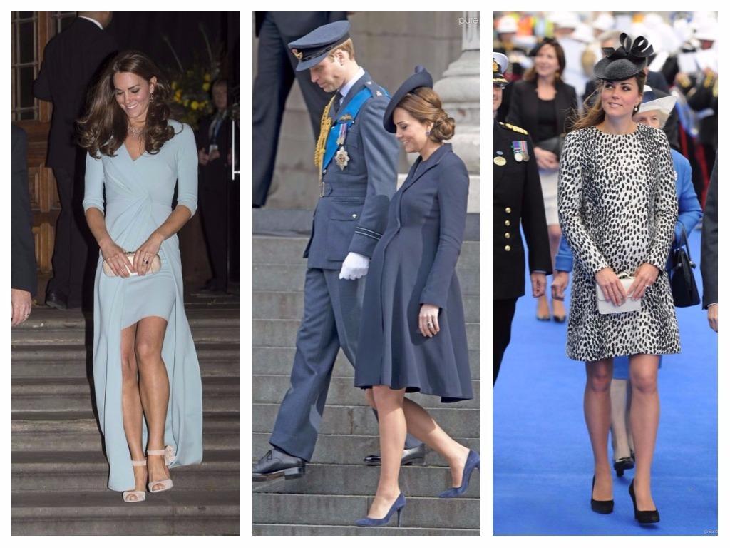 """Kate a été enceinte deux fois, et elle a continué à incarner le style, ce qui prouve que """"grossesse"""" et """"style"""" ne sont pas mutuellement exclusifs."""