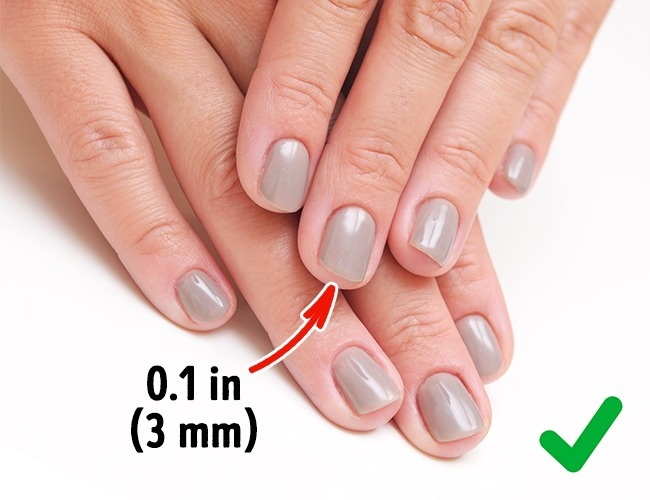 Ongles courts