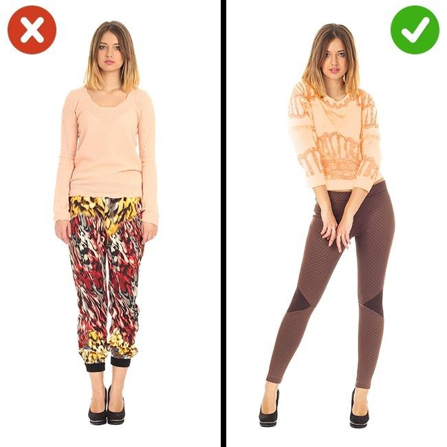 Pantalon avec grandes impressions