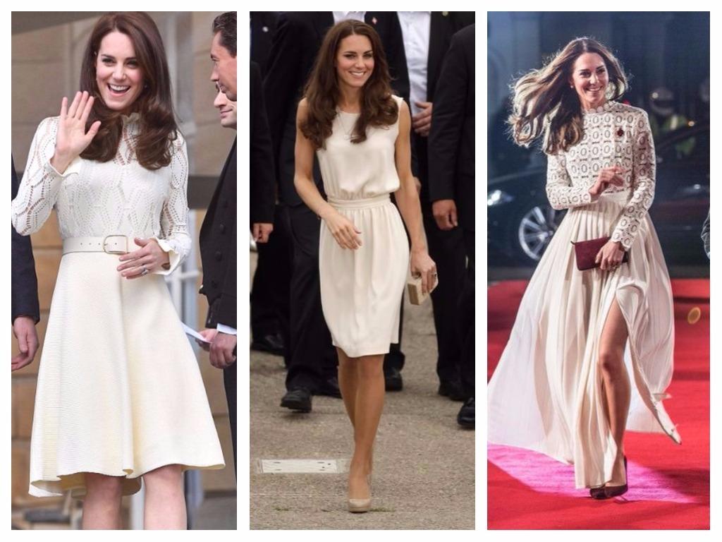 La duchesse accentue toujours sa taille avec une ceinture