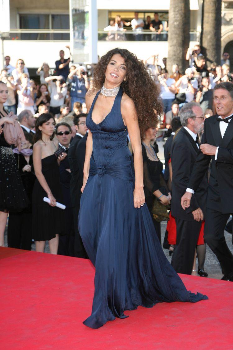 Afef Jnifen au Festival de Cannes 2007 look 2