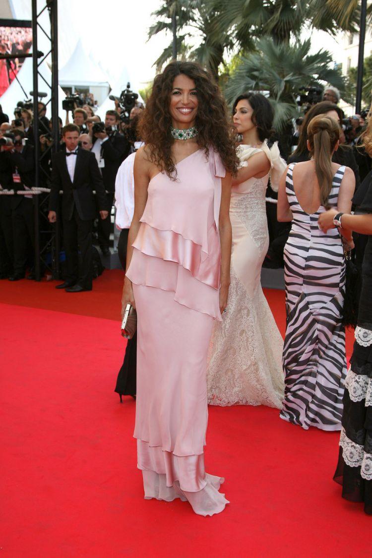 Afef Jnifen au Festival de Cannes 2007