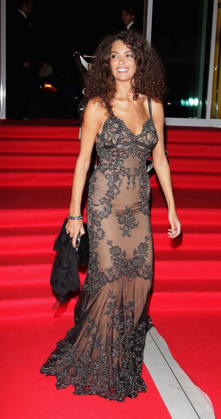 Afef Jnifen au dîner gala du festival International Cinema for truth en 2007