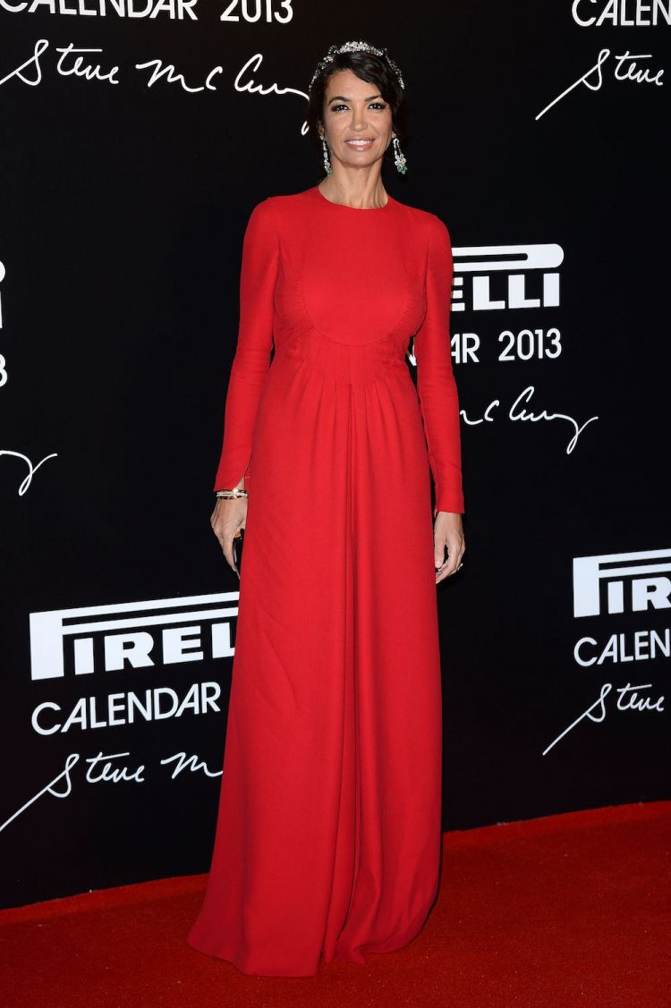 Afef Jnifen participe au gala du calendrier Pirelli 2013