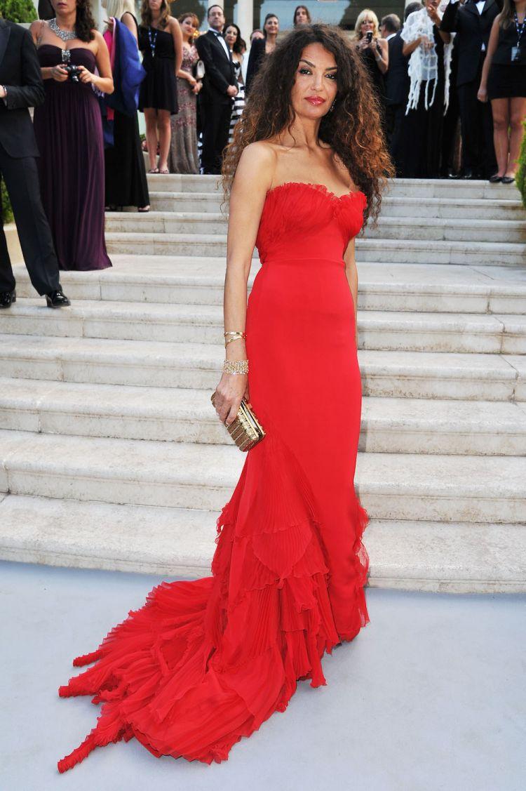 Jnifen porte Roberto Cavalli au Festival de Cannes 2011