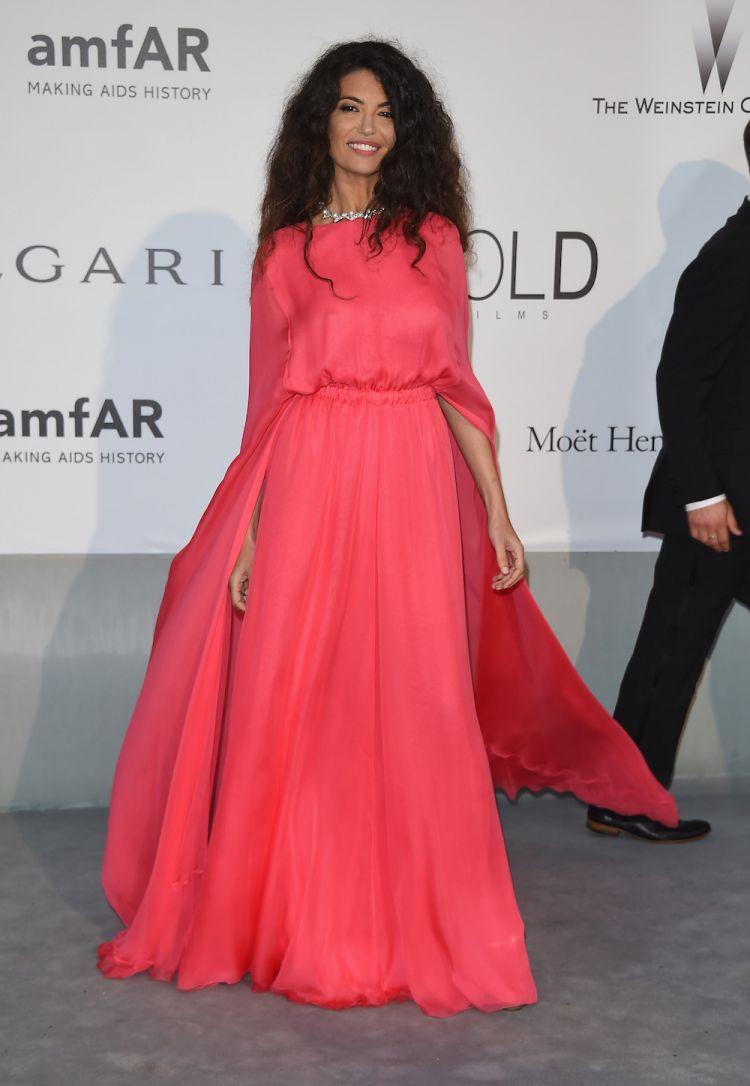 Afef Jnifen porte Valentino au 21ème gala du cinéma contre le SIDA de l'amfAR