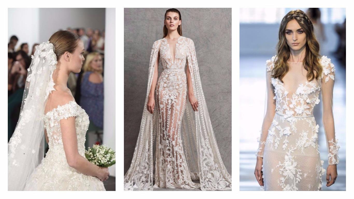 Bridal Week 2018 : Les 6 grandes tendances robes de mariées 2018