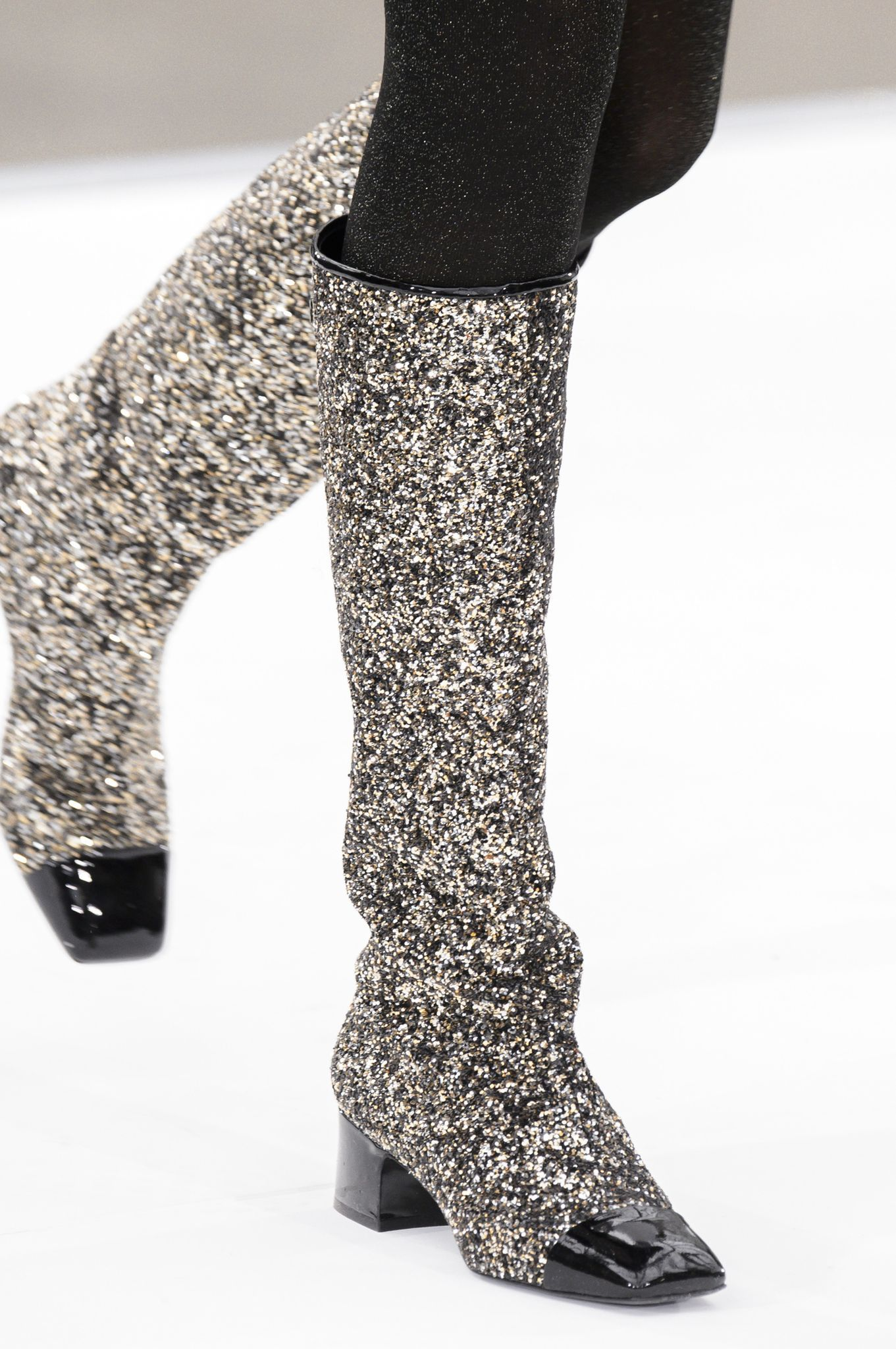 Boots CHANEL tendance hiver 2018