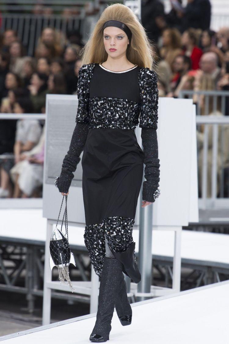 modele robe longue tendance 2018 - Chanel Fall