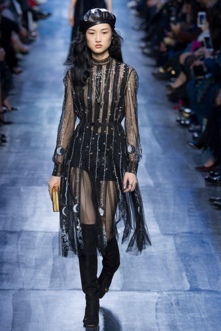 modele robe longue tendance 2018 - Christian Dior Fall
