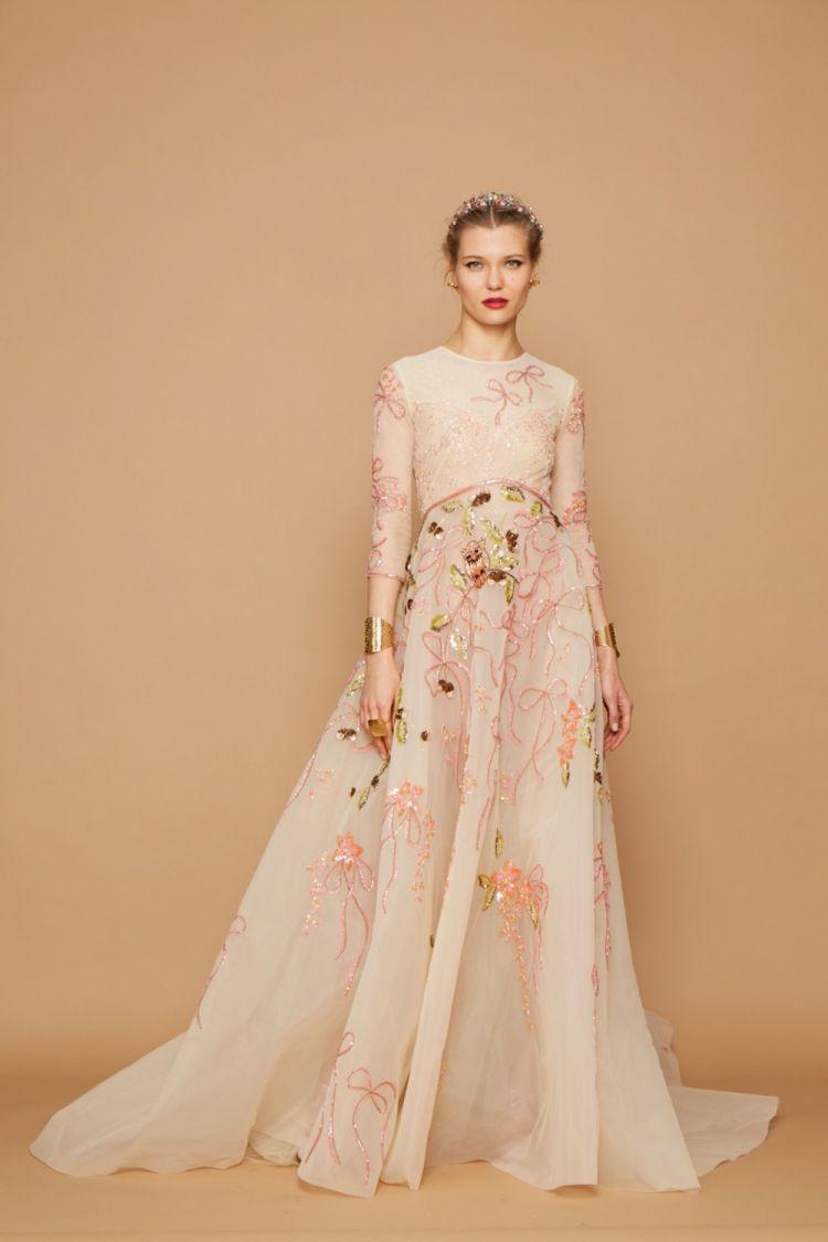 modele robe longue tendance 2018 - Georges Hobeika Fall