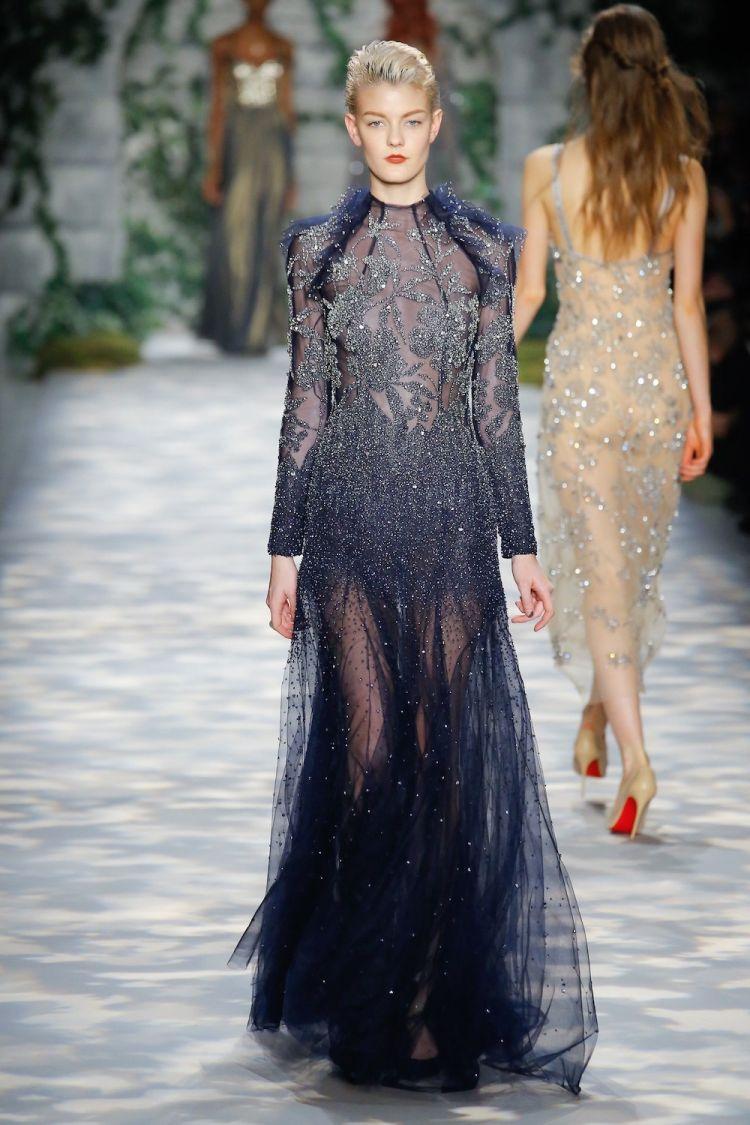 modele robe longue tendance 2018 - Jenny Packham
