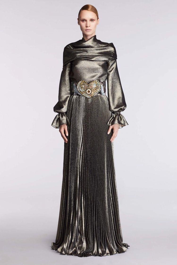 modele robe longue tendance 2018 - Reem Acra