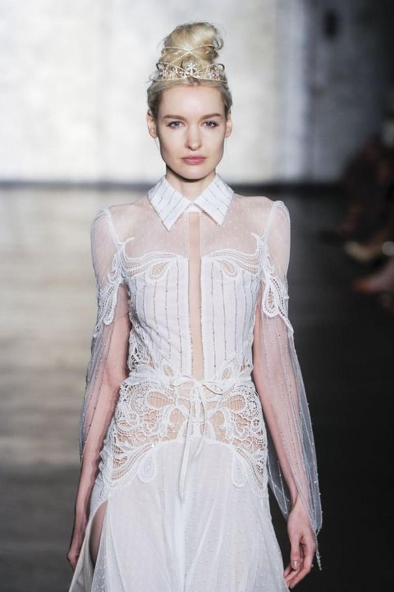 tendances robes de mariées 2018 - Robe modele 11