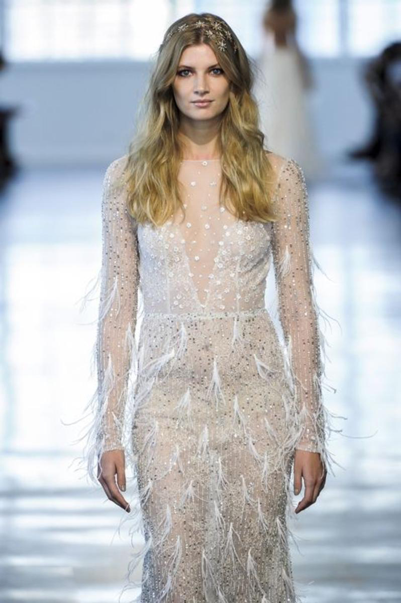 tendances robes de mariées 2018 - Robe modele 13