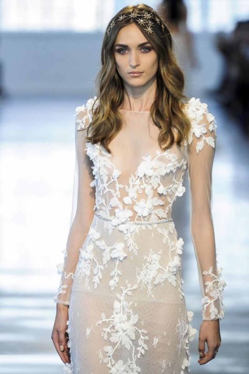 tendances robes de mariées 2018 - Robe modele 17